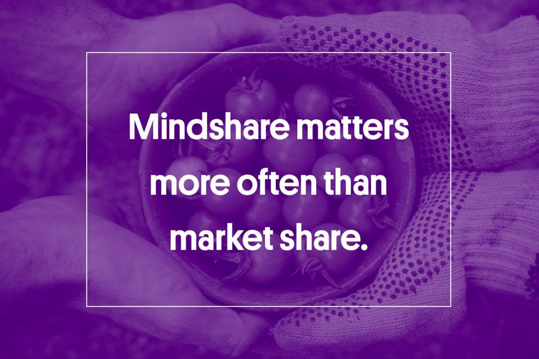 mindshare more than market share